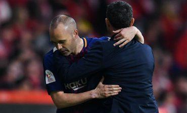Iniesta Tak Terima Valverde Dijadikan Kambing Hitam