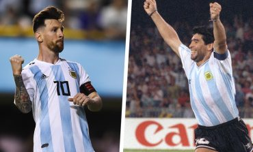 Putra Maradona Umpamakan Ayahnya Tuhan dan Lionel Messi Alien