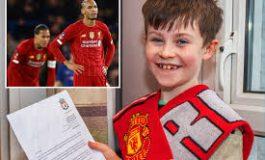 Liverpool Kalah Lagi, Warganet Ungkit Surat Fans Cilik Manchester United ke Jurgen Klopp