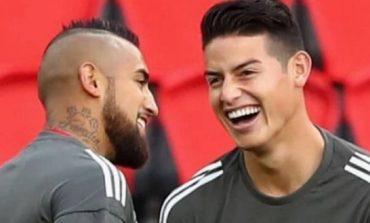 Arturo Vidal Sedih James Rodriguez Ditelantarkan Real Madrid
