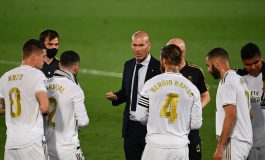 Zidane Minta Real Madrid Jangan Terlena dengan Keunggulan 4 Poin dari Barcelona