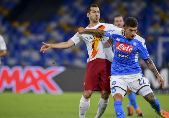 Hasil Pertandingan Napoli vs AS Roma: Skor 2-1
