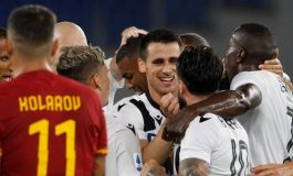 Hasil Pertandingan AS Roma vs Udinese: Skor 0-2