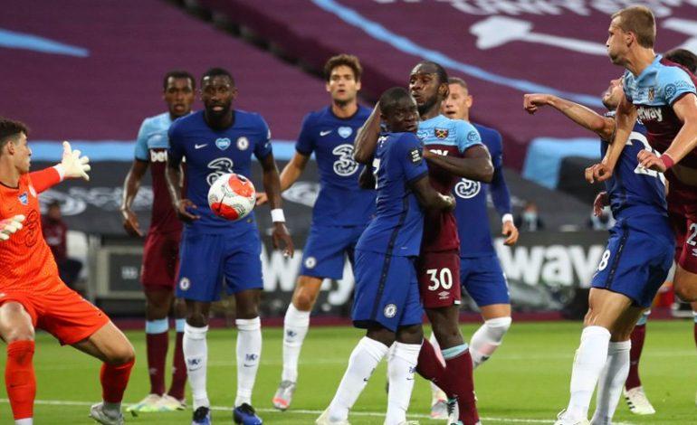 Hasil Pertandingan West Ham vs Chelsea: Skor 3-2