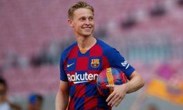 Frenkie de Jong Ingin Akhiri Musim Debut di Barcelona dengan Trofi
