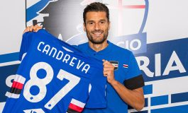 Antonio Candreva Resmi Dikontrak 4 Tahun oleh Sampdoria