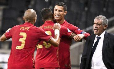 Cristiano Ronaldo Cetak Gol ke-100 di Timnas, Bruno Fernandes Ucapkan Selamat