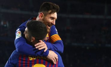 Luis Suarez Menjawab Pesan Perpisahan Lionel Messi dengan Indah