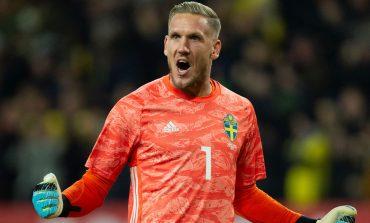 Everton Pinjam Kiper Timnas Swedia dari AS Roma