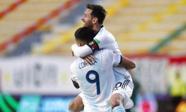 Lionel Messi Girang Tim Tango Putus Kutukan La Paz