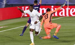 Real Madrid vs Real Valladolid, Vinicius Tentukan Kemenangan Los Blancos
