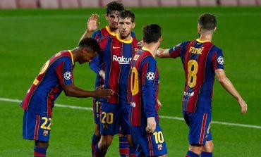 Hasil Pertandingan Barcelona vs Ferencvaros: Skor 5-1