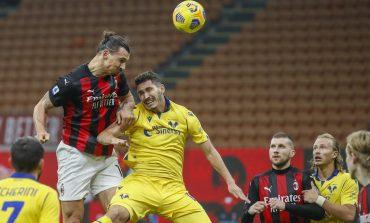 AC Milan vs Verona: Gol Ibrahimovic Selamatkan Rossoneri dari Kekalahan
