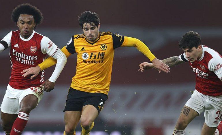 Hasil Pertandingan Arsenal vs Wolverhampton: Skor 1-2