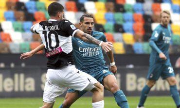 Hasil Pertandingan Udinese vs AC Milan: Skor 1-2
