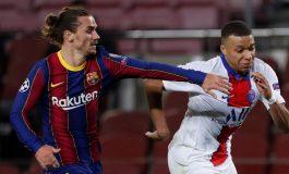 Griezmann Tinggalkan Barcelona Seusai Kalah dari PSG