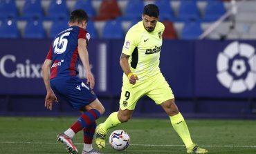 Levante vs Atletico: Luis Suarez Cs Ditahan Imbang 1-1