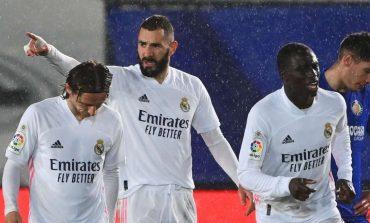 Madrid vs Getafe: Menang 2-0, El Real Dekati Atletico di Klasemen