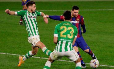 Real Betis vs Barcelona: Messi Main, Blaugrana Menang 3-2