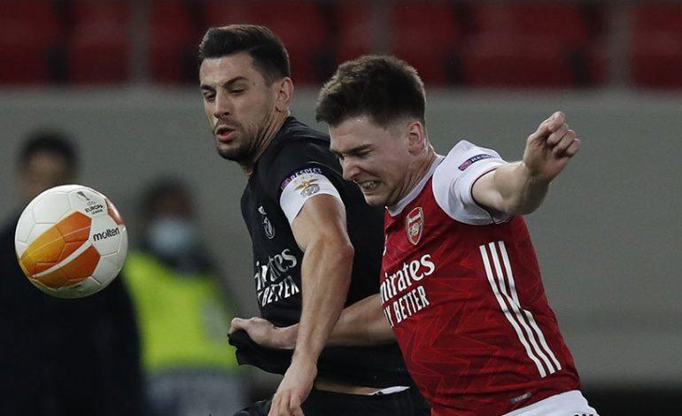 Hasil Pertandingan Arsenal vs Benfica: Skor 3-2
