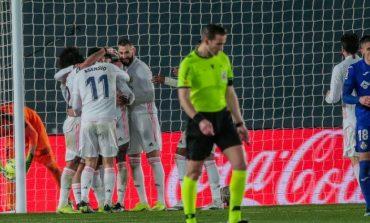 Hasil Pertandingan Real Madrid vs Getafe: Skor 2-0