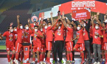 Gelar Juara Piala Menpora, Kado Ultah Manis Pelatih Persija