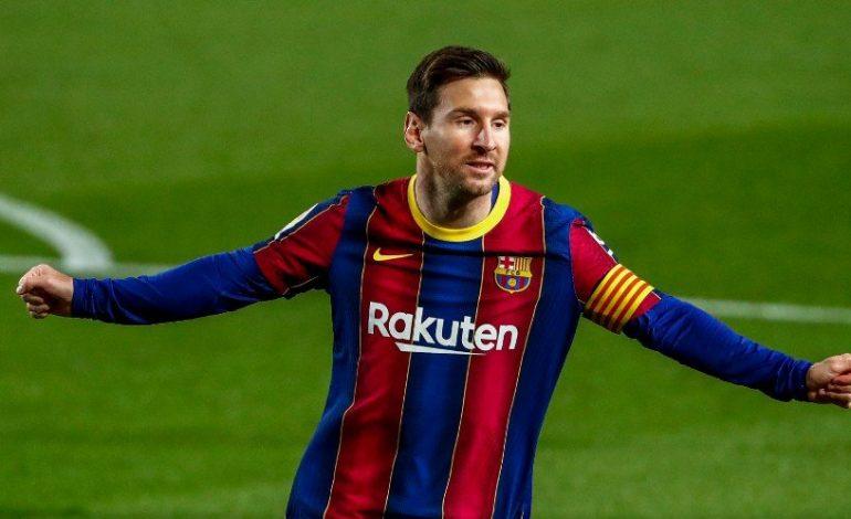 Man of the Match Barcelona vs Getafe: Lionel Messi