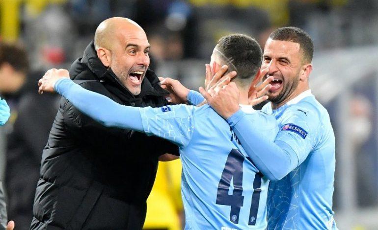 Borussia Dortmund vs Manchester City: Skor 1-2 (Agg. 2-4)