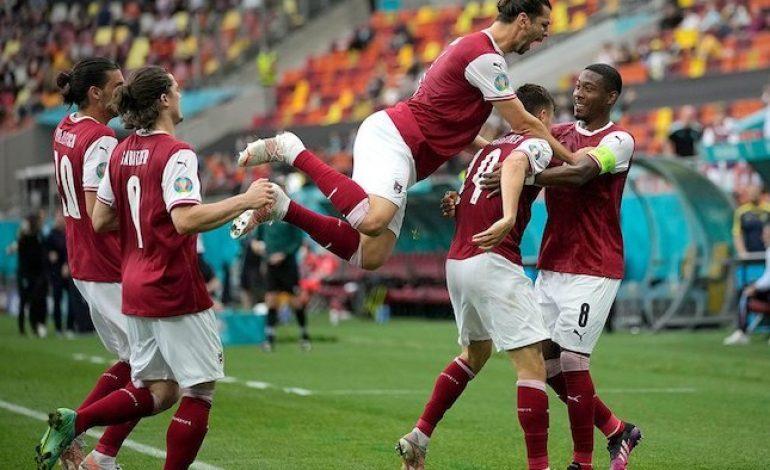 Hasil Euro 2020 Ukraina vs Austria: Skor 0-1