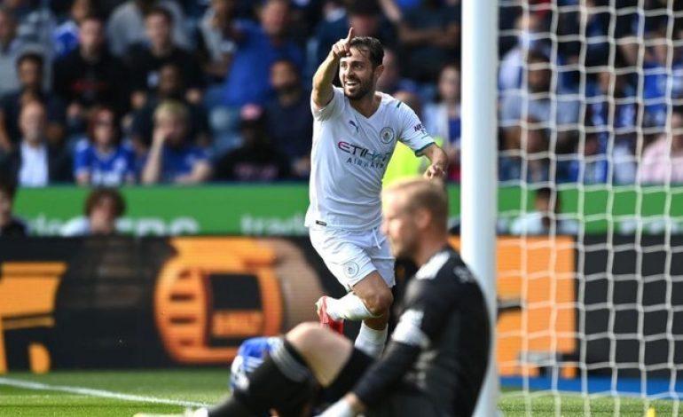 Leicester Vs Man City: Bernardo Silva Menangkan The Citizens