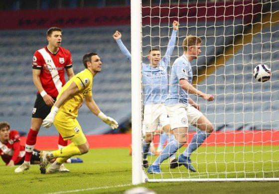 9 Data-Fakta Man City Vs Southampton
