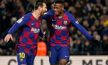 Ansu Fati Baru Mematahkan Rekor Lionel Messi